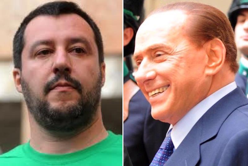 Salvini contro Berlusconi: